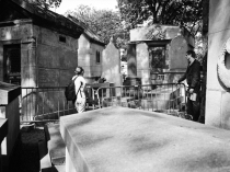 James Douglas Morrison at Père Lachaise.
