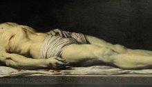 Le Christ mort couché sur son linceul - Philippe de CHAMPAIGNE