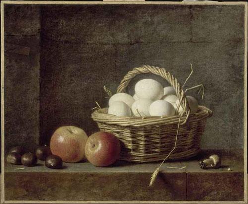 Le panier d'oeufs - Henri-Horace-Roland DELAPORTE 1788