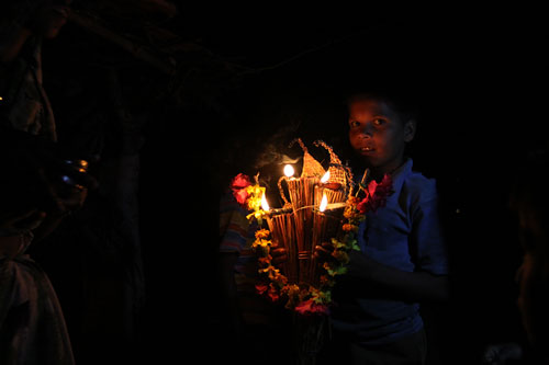 diwali in Purushwadi