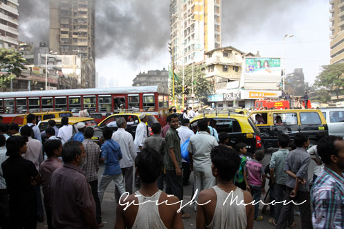 Mumbai city traffic