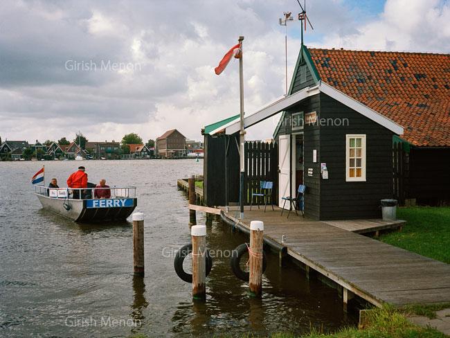 Zaanse Schans ferry