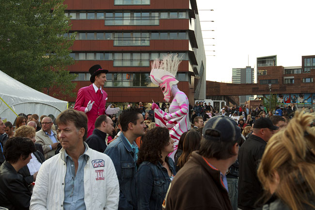 Lamere festival in Almere, Holland