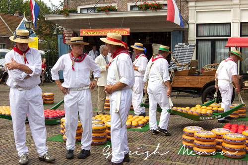 Cheese towns in Holland